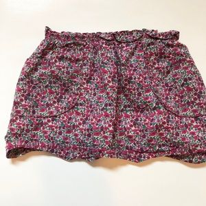 Peek floral skirt
